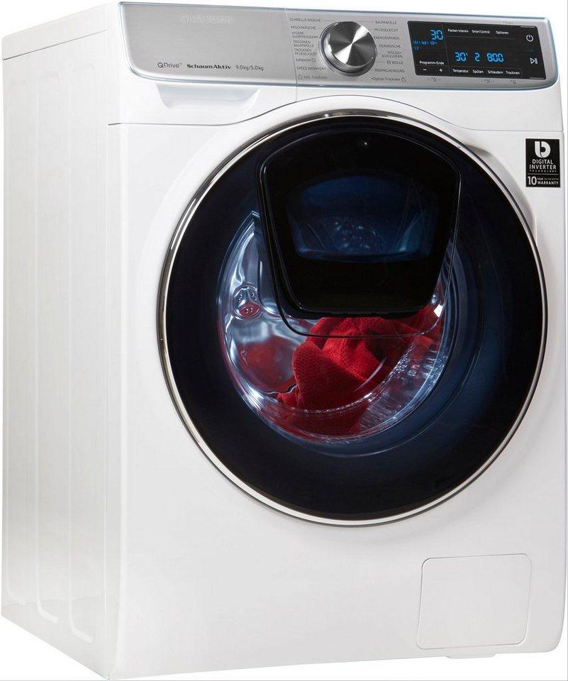 samsung waschtrockner wd7800 quickdrive 9 kg 5 kg 1400 u. Black Bedroom Furniture Sets. Home Design Ideas