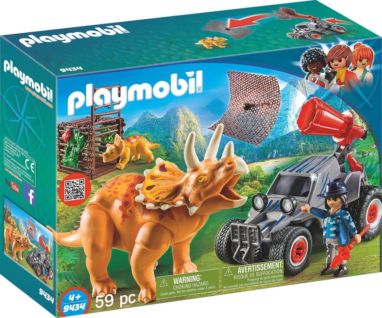 Playmobil® Offroader mit Dino-Fangnetz (9434), »Dinos«