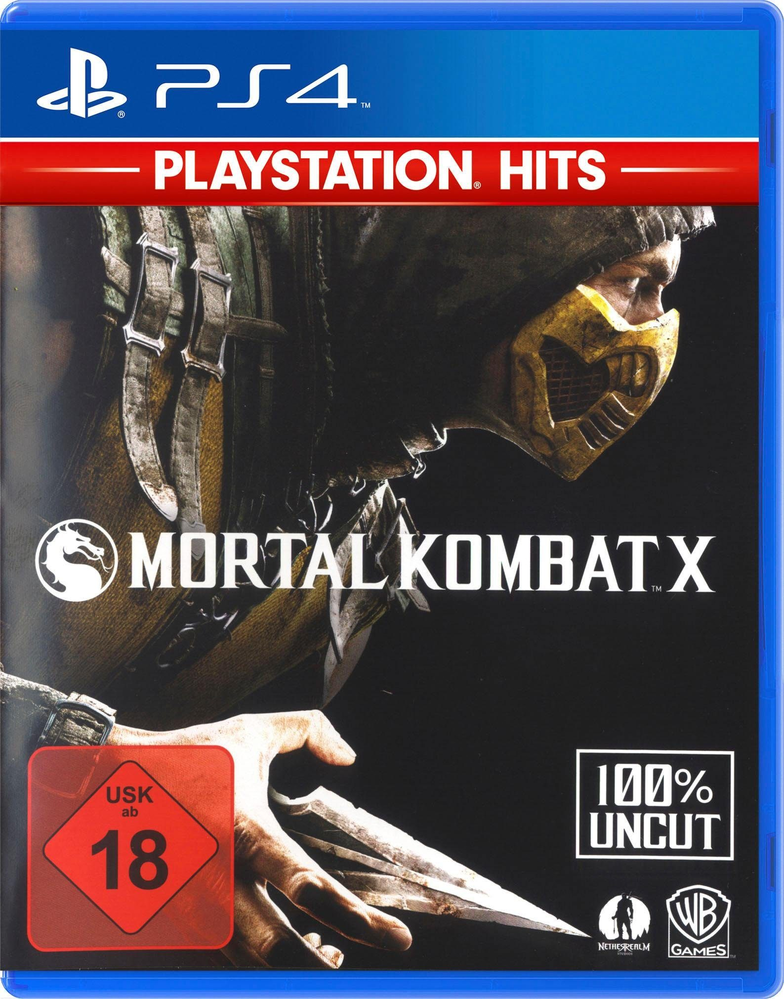 Mortal Kombat X PlayStation 4, Software Pyramide