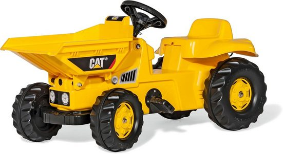 rolly toys® Tretfahrzeug »rollyKid Dumper CAT«, mit Vorderkipper