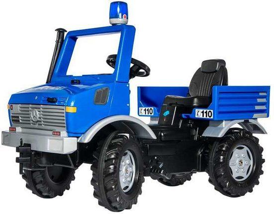 rolly toys® Tretfahrzeug »rollyUnimog Polizei«, mit Blaulicht