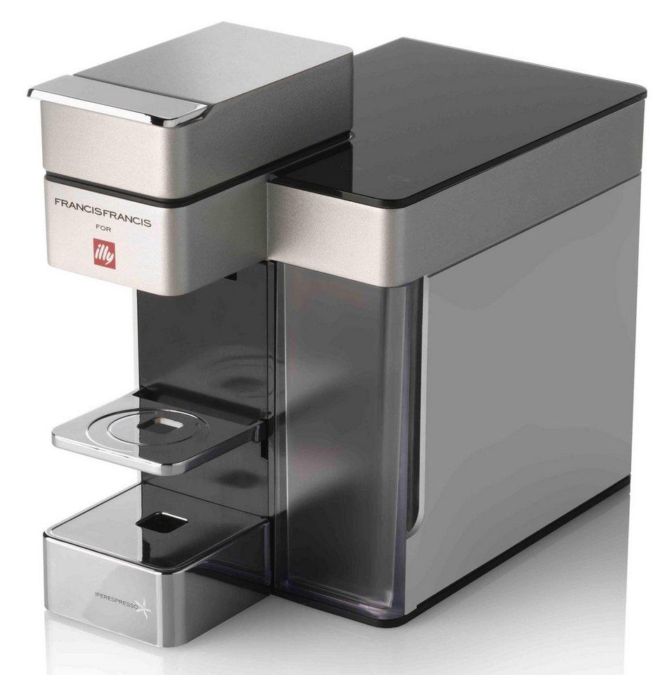 Illy Kapselmaschine illy FrancisFrancis! Y5 Iperespresso E&C, zwei  programmierbare Tassenvolumen online kaufen | OTTO