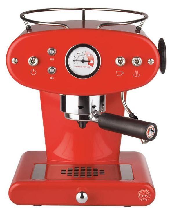 Illy Kaffeepadmaschine illy FrancisFrancis! X1 Trio