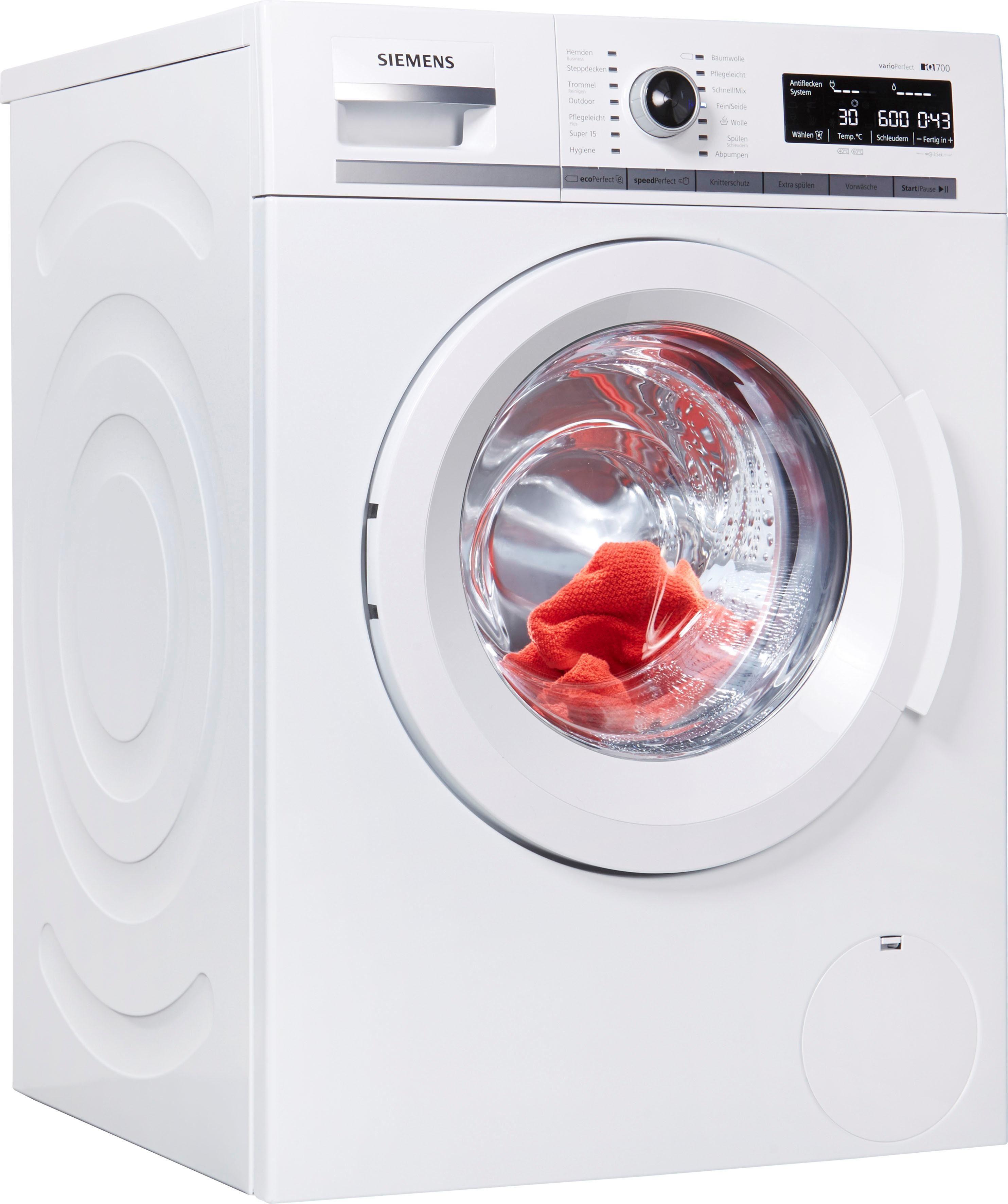 SIEMENS Waschmaschine iQ700 WM14W550