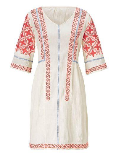 Sienna Kleid Mit aufwendiger Stickerei