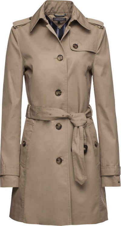 Tommy hilfiger damen mantel cynthia cotton parka