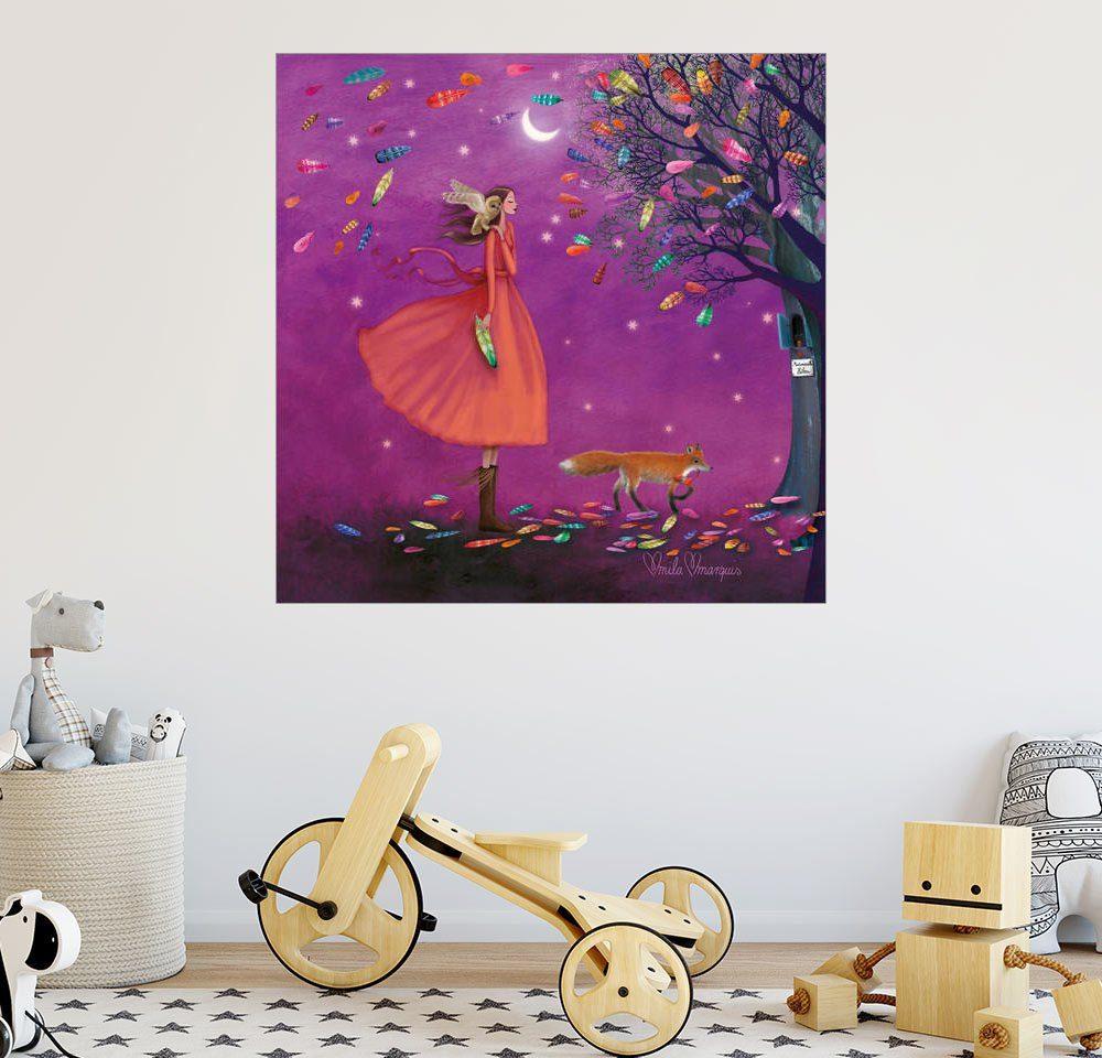 Posterlounge Wandbild - Mila Marquis »Stürmische Zeiten«