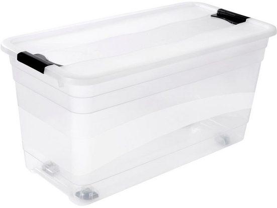 keeeper Aufbewahrungsbox »konrad«, mit Rollen, 83 Liter