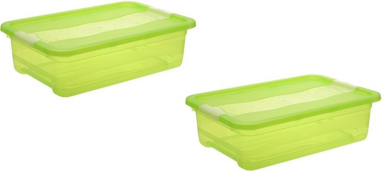 keeeper Aufbewahrungsbox »cornelia« (Set, 2 Stück), mit Deckel, 28 Liter