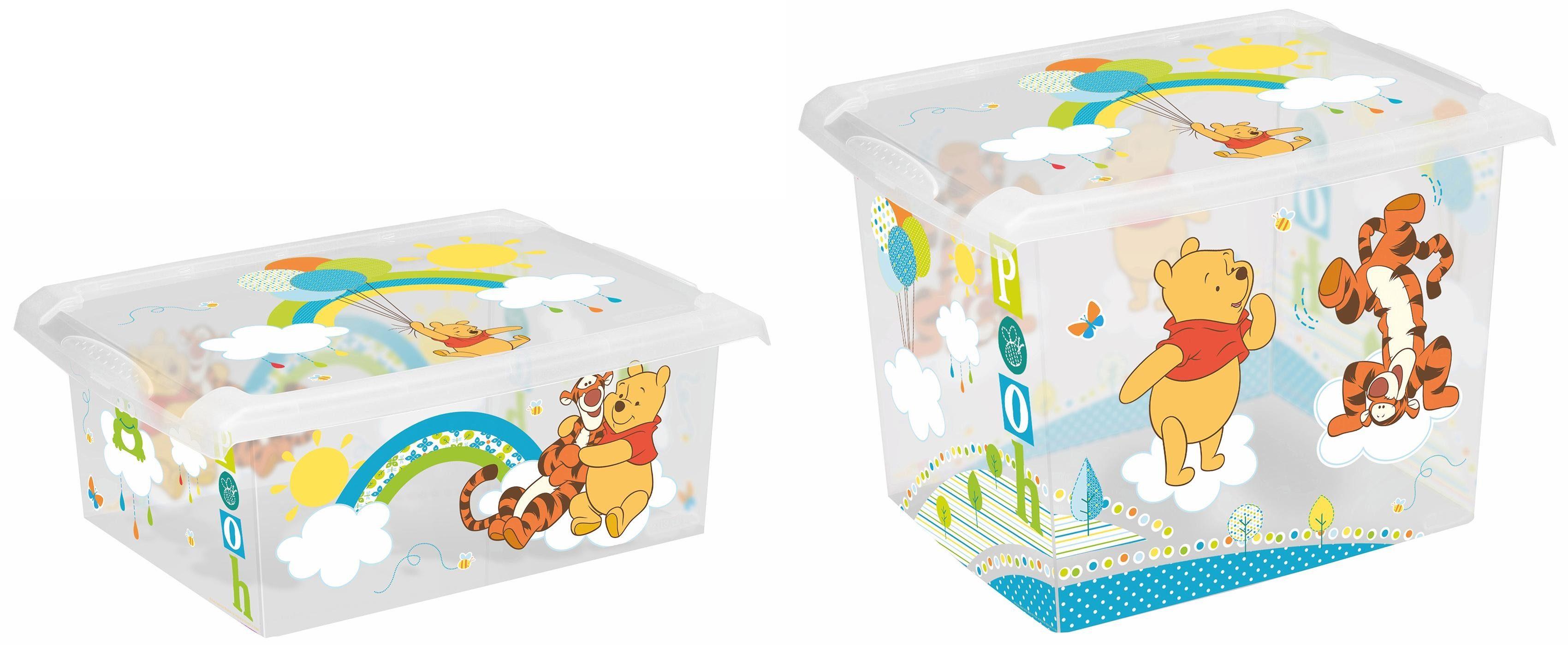 keeeper Deko-Box mit Deckel und Winnie Puuh Dekor, 2er Set, »filip«