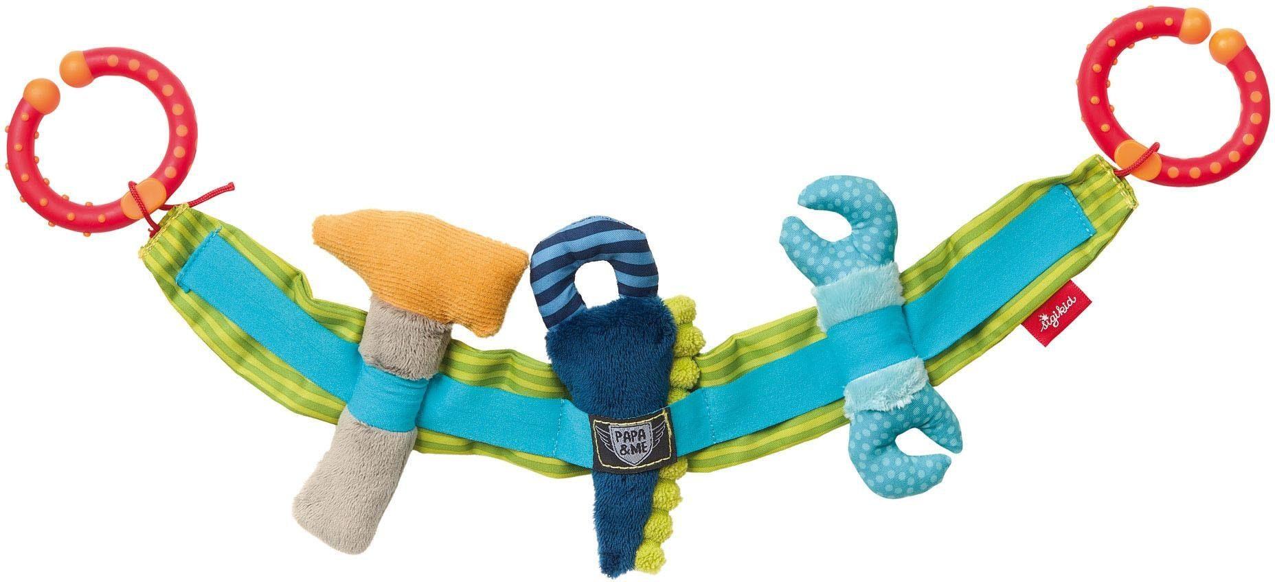 sigikid® Kinderwagenkette, »Werkzeug, Papa & Me«