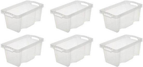 keeeper Aufbewahrungsbox »franz« (Set, 6 Stück), 6,5 Liter