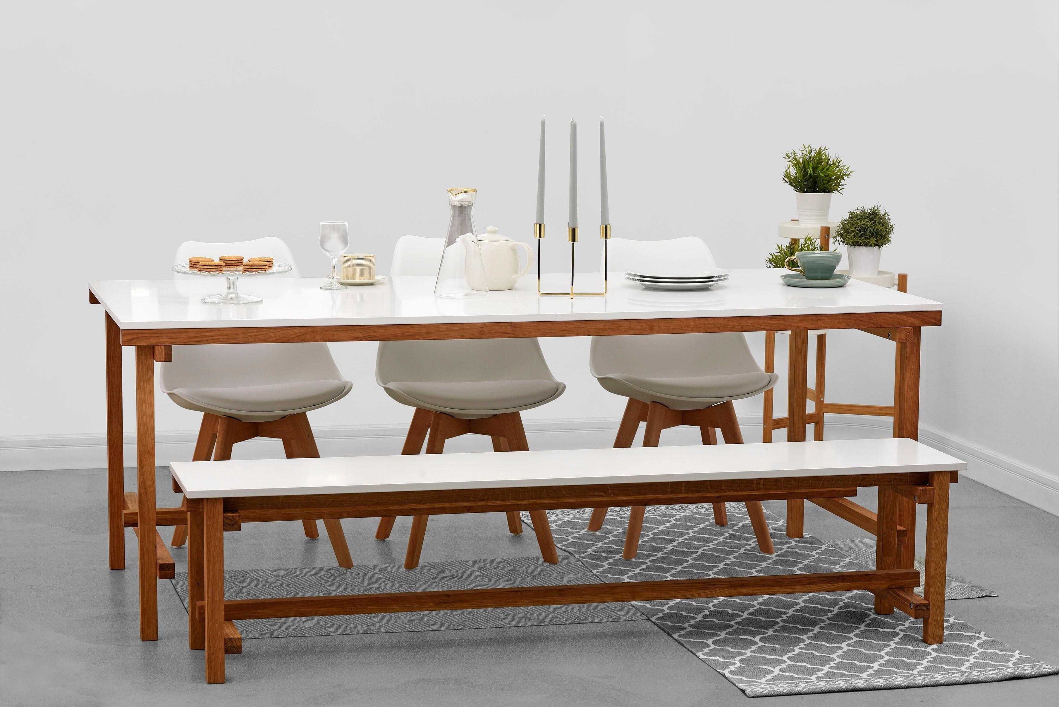 Home affaire Speisen-Set »Construction« 2-teilig, bestehend aus Tisch und Bank
