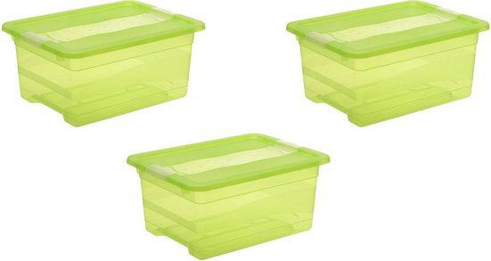 keeeper Aufbewahrungsbox »cornelia« (Set, 3 Stück), mit Deckel, 12 Liter