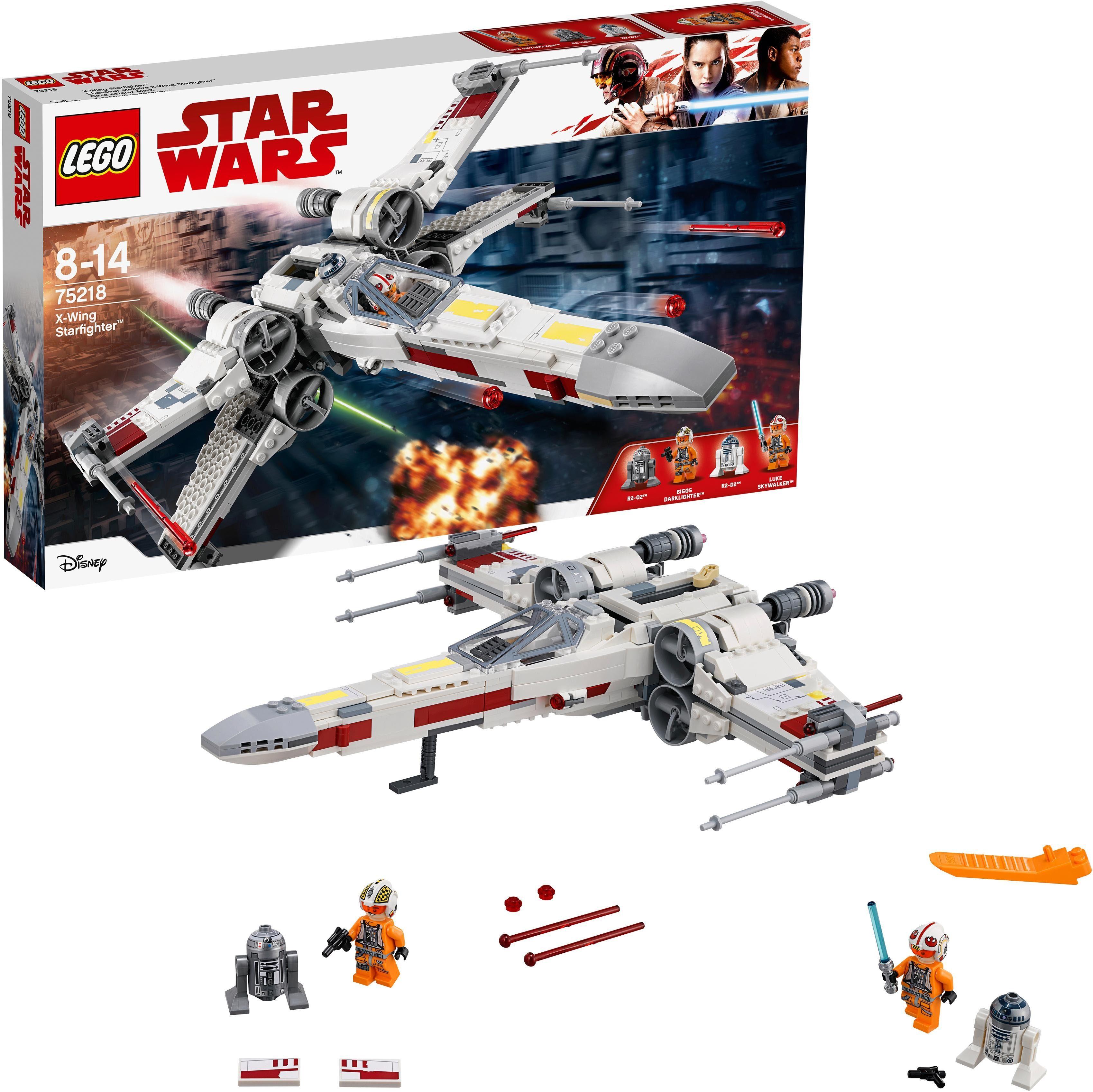 LEGO® Konstruktionsspielsteine »X-Wing Starfighter™ (75218), Star Wars™«, (730 tlg)