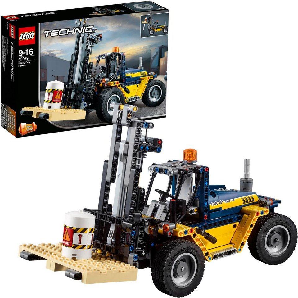 lego schwerlast gabelstapler 42079 lego technic. Black Bedroom Furniture Sets. Home Design Ideas