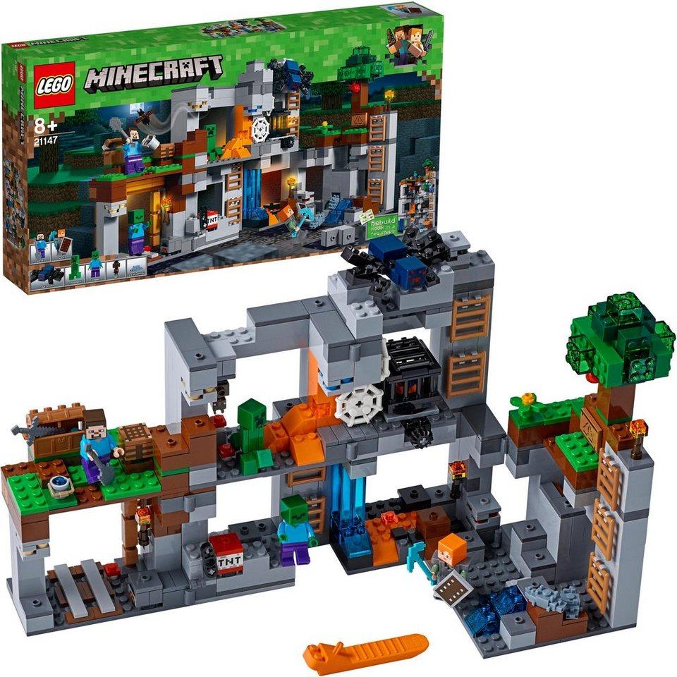 lego abenteuer in den felsen 21147 lego minecraft online kaufen otto. Black Bedroom Furniture Sets. Home Design Ideas