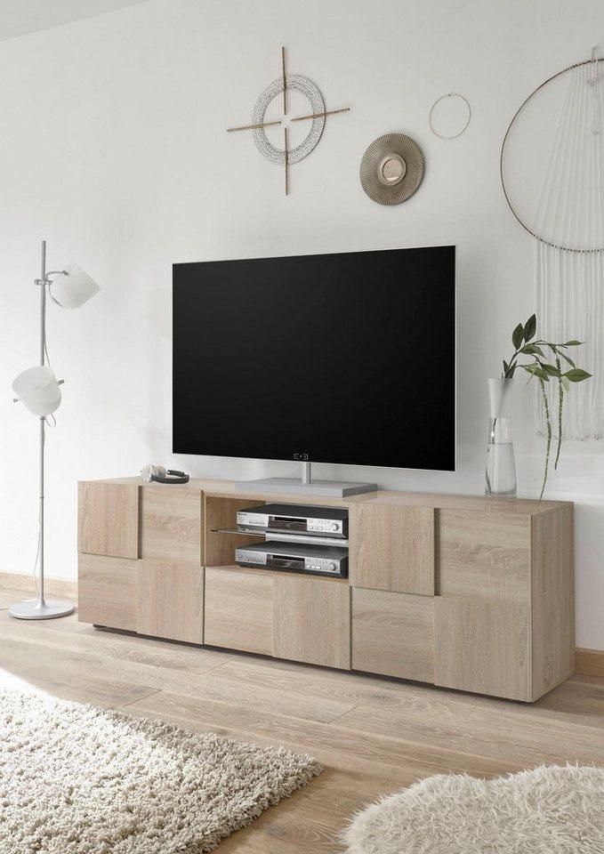 TV Möbel - LC Lowboard »Dama«, Breite 181 cm  - Onlineshop OTTO