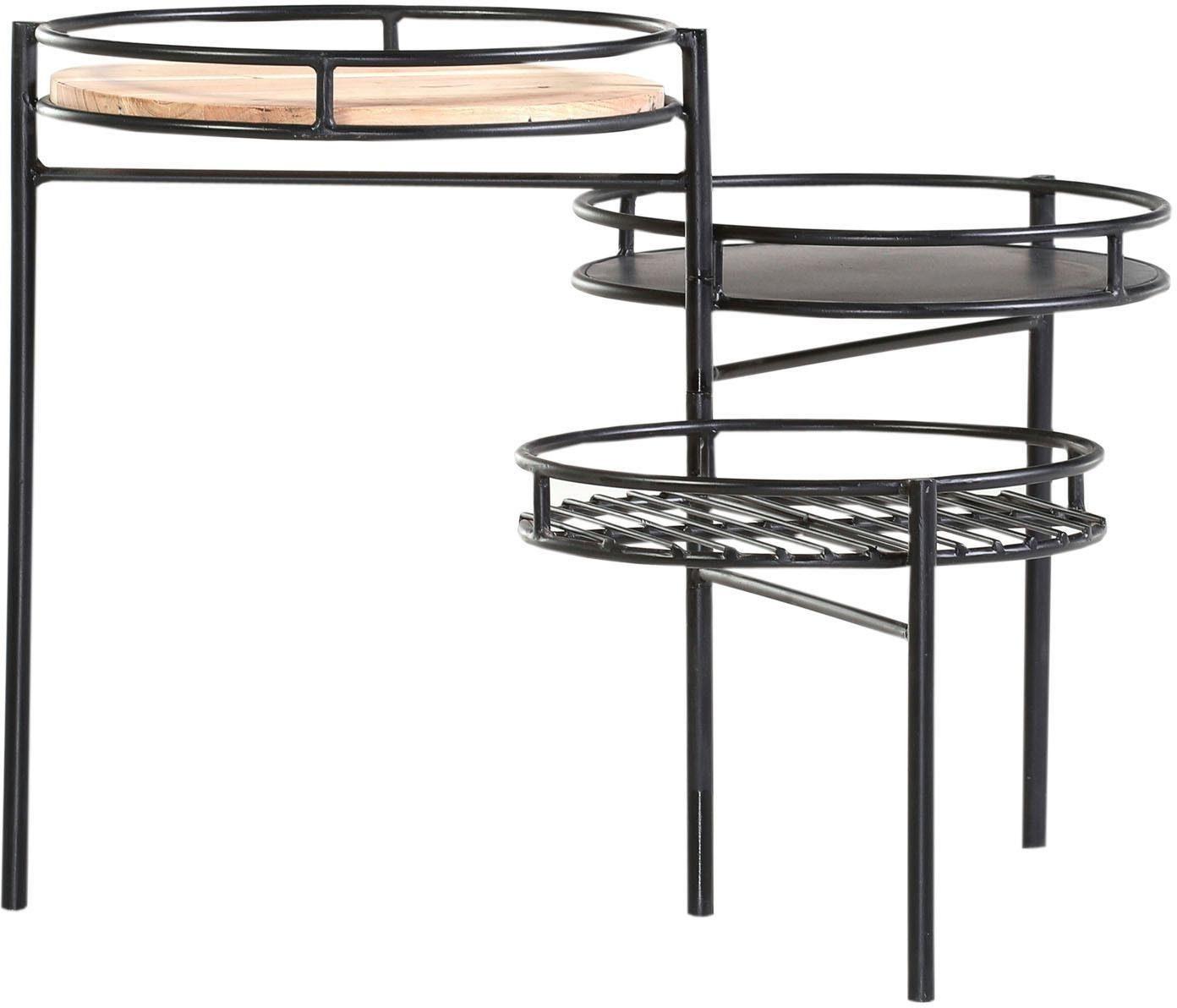 Gutmann Factory Beistelltisch »Firestone« mit drei Tischplatten