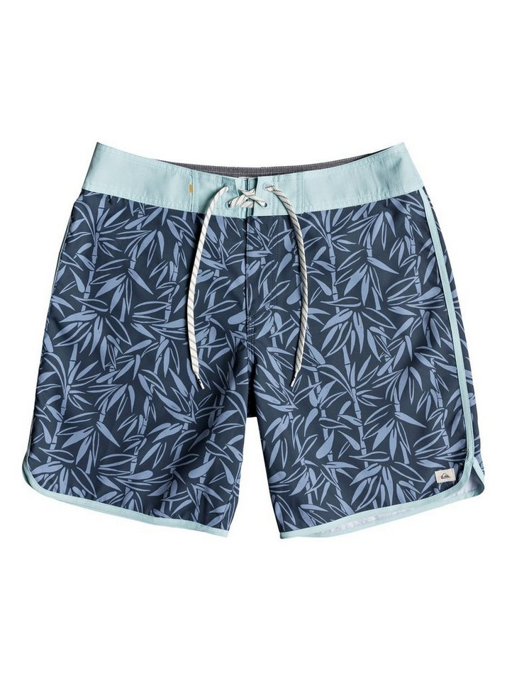 Herren Quiksilver Boardshorts Waterman Mana Scallop 19 blau | 03613373847508