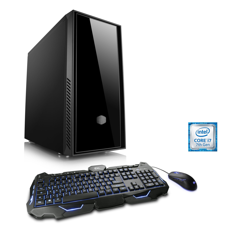 CSL Silence PC i7-7700K | GeForce GTX 1080 | 16 GB DDR4 | 240 GB SSD »Levitas T7665 Windows 10«