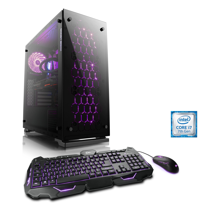 BoostBoxx Gaming PC | i7-7700K | GeForce GTX 1080 | 32GB DDR4 | SSD »eSports Gaming Edition T7150«