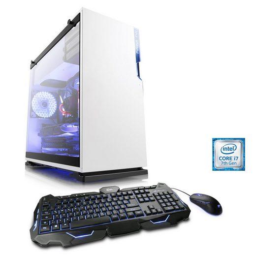 BoostBoxx Gaming PC, i7-7700K, GeForce GTX 1070, 16 GB DDR4, SSD »eSports Pro Edition T7060«