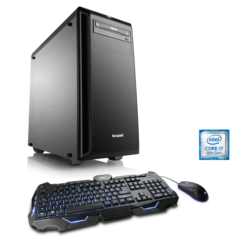 CSL Gaming PC | Intel Core i7-8700K | GTX 1080 Ti | 16 GB DDR4 | SSD »HydroX T9010 Wasserkühlung«