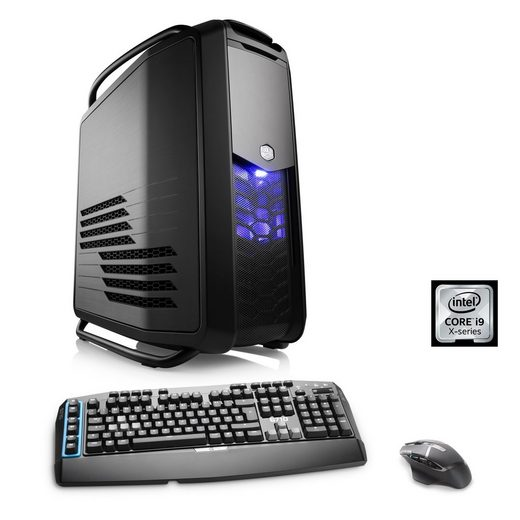 CSL Extreme Gaming PC | i9-7980XE | GTX 1080 Ti SLI | 128GB DDR4 RAM »HydroX T9175 Wasserkühlung«