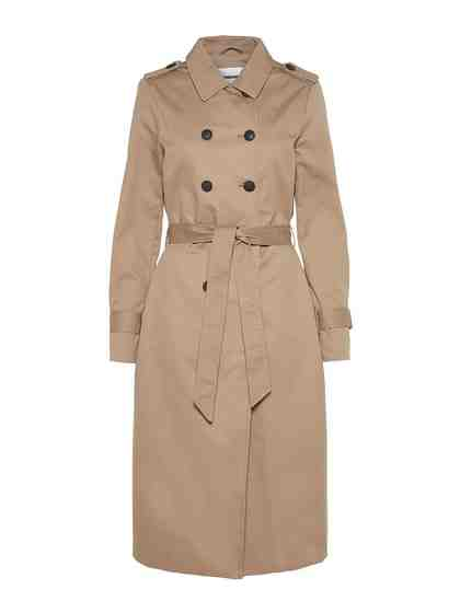 Noisy may Langer Trenchcoat