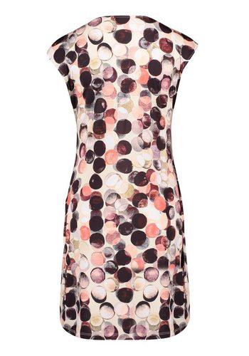 - Damen Cartoon Tupfenkleid mit Punkten bunt,mehrfarbig | 04026325052018
