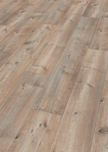 EGGER Laminat »HOME Grandola Kiefer grau«, Long Format, 4-seitige Fasen, 2,511 m²/Pkt., Stärke: 10 mm