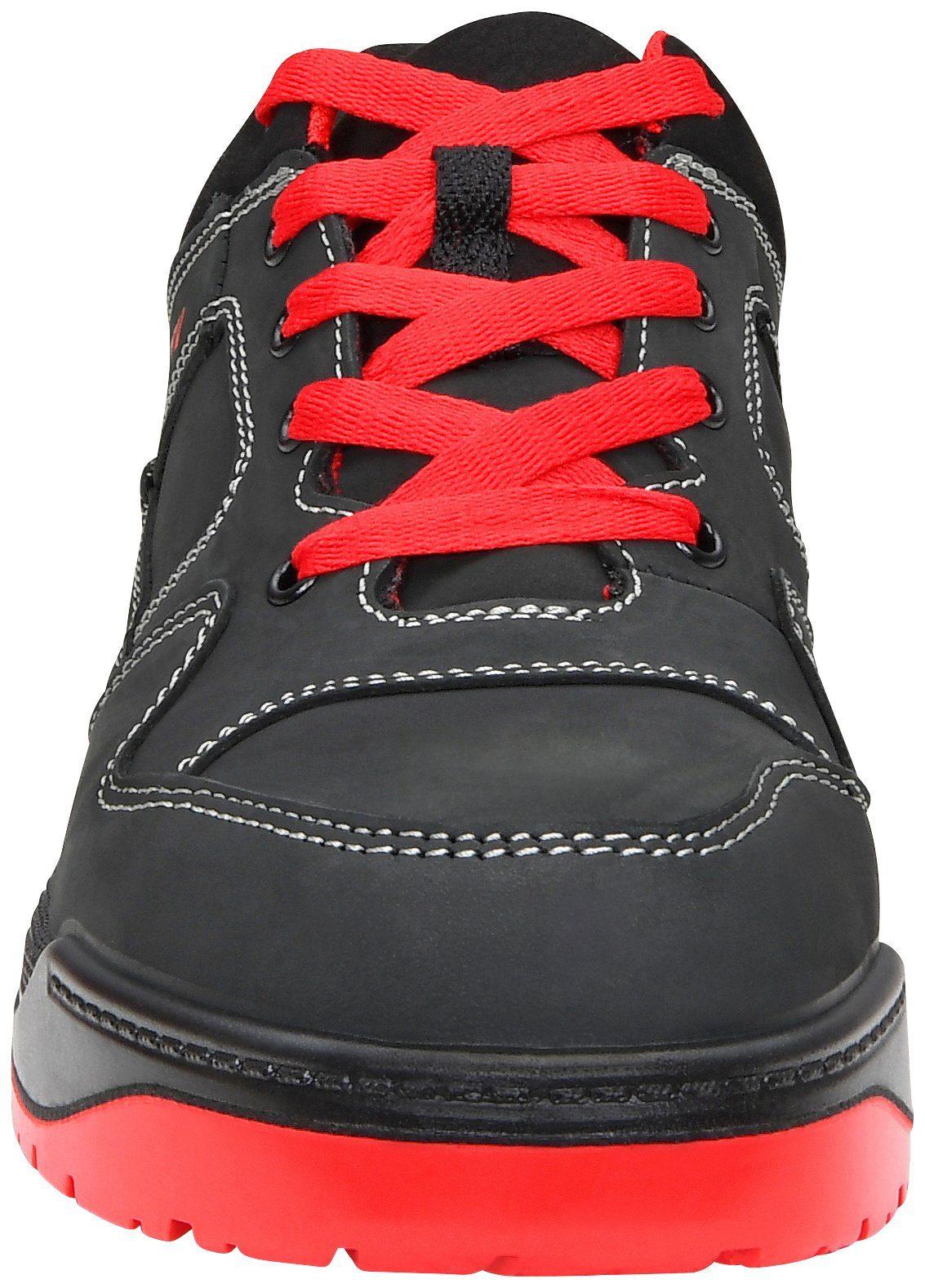 Red Elten nr Maverick Sicherheitsschuh 562523f Schwarz Low Black Artikel rot n77twrx