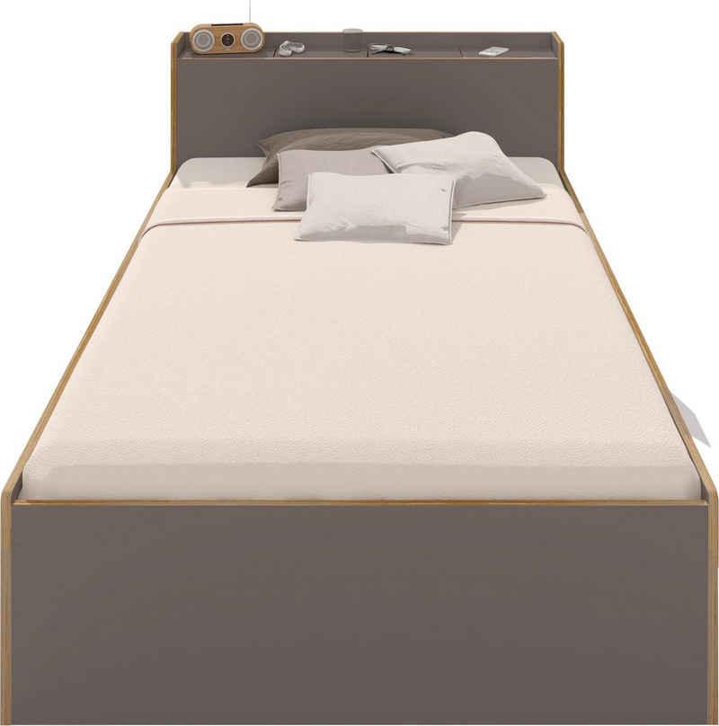 Müller SMALL LIVING Bett »NOOK«, in zwei Breiten, Design by Michael Hilgers
