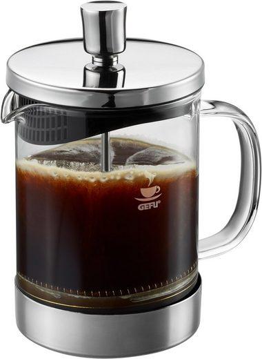 GEFU Kaffeebereiter Diego, 0,6l Kaffeekanne, aus Borosilikatglas