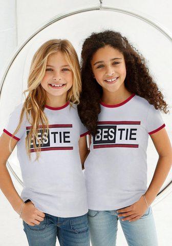 BUFFALO Marškinėliai »BESTIE«