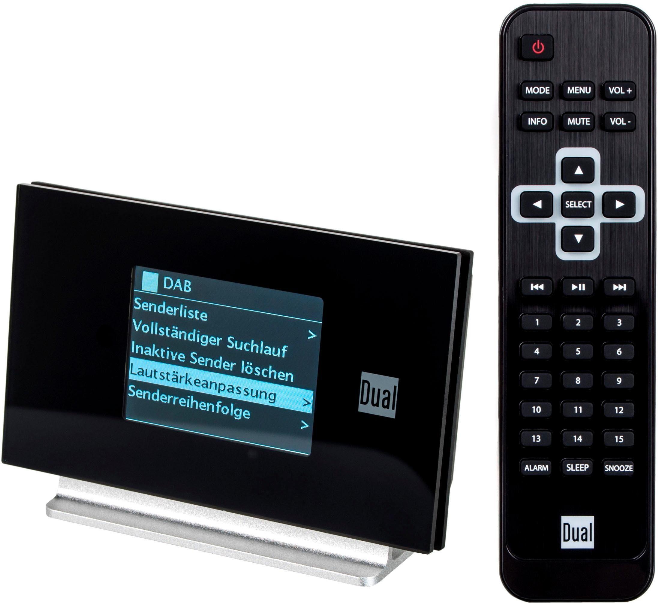 Dual »Dual Radiostation IR 3A« Audio-Adapter F-Stecker zu 3,5-mm-Klinke, AV OUT/Digital