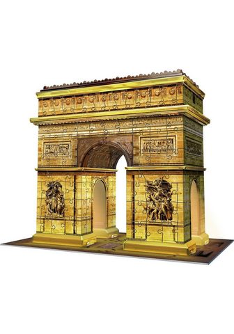 "RAVENSBURGER 3D-Puzzle ""Triumphbogen bei Nacht..."