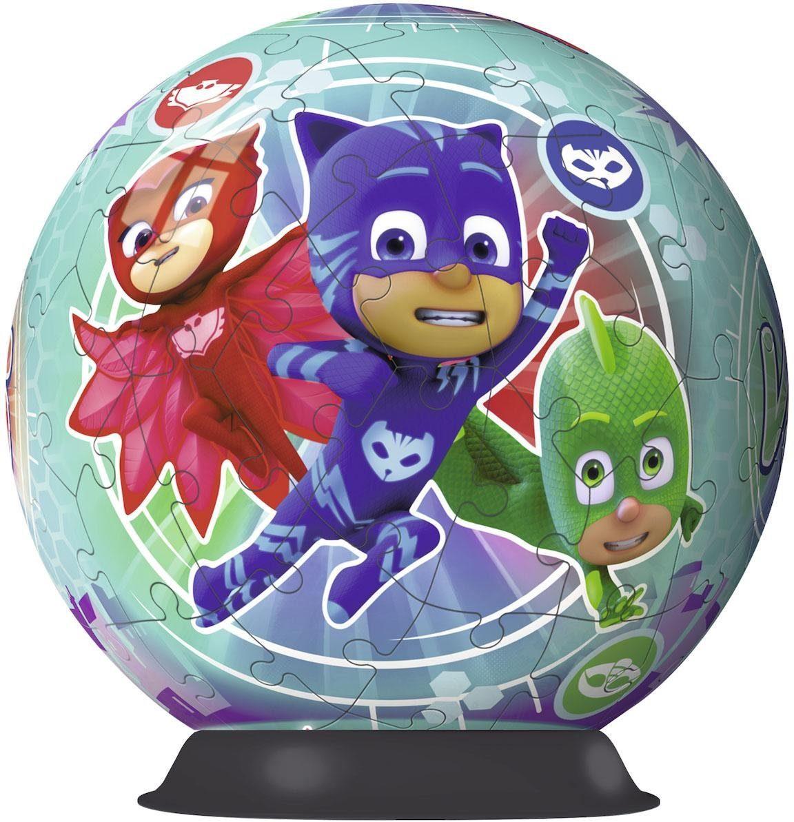 Ravensburger 3D Puzzleball , 72 Teile, »PJ Masks«