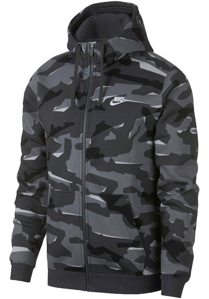 8285df0d4892 Nike Sportswear Sweatjacke »M NSW CLUB CAMO HOODIE FZ BB« online ...