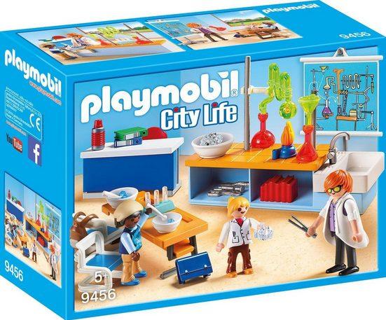 Playmobil® Konstruktions-Spielset »Chemieunterricht (9456), City Life«, Made in Germany