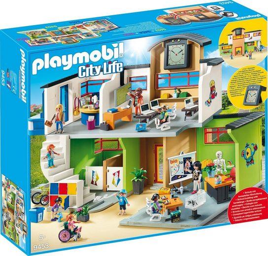 Playmobil® Konstruktions-Spielset »Schulhaus »Große Schule mit Einrichtung« (9453)«
