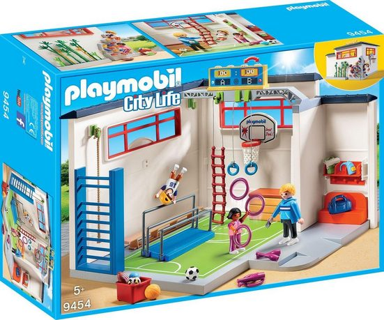 Playmobil® Konstruktions-Spielset »Turnhalle (9454), City Life«, Made in Germany