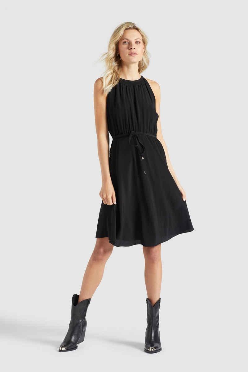 khujo Sommerkleid »KELSA 2« in A-Linie mit integriertem Unterrock
