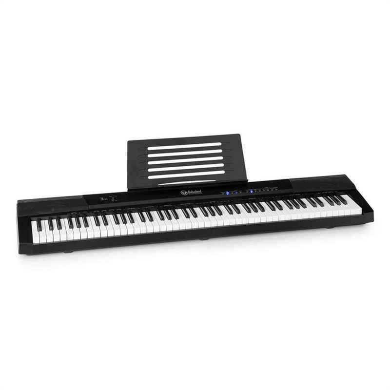 Schubert Keyboard »Preludio Keyboard 88 Tasten Anschlagsdynamik Sustain Pedal schwarz«