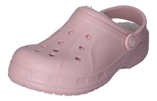 Crocs »Ralen Lined mit Fell« Clog Cotton Candy Oatmeal