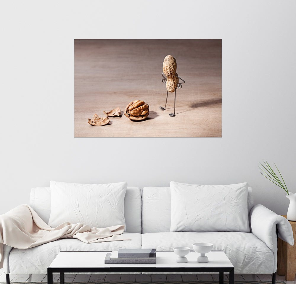 Posterlounge Wandbild – Nailia Schwarz Simple Things – Verlorener Verstand bunt,mehrfarbig | 04053829694314