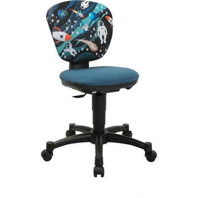 MyToys-COLLECTION Schreibtischstuhl »Drehstuhl ERGOKID 15 JET PETROLBLAU/SPACE 2021«