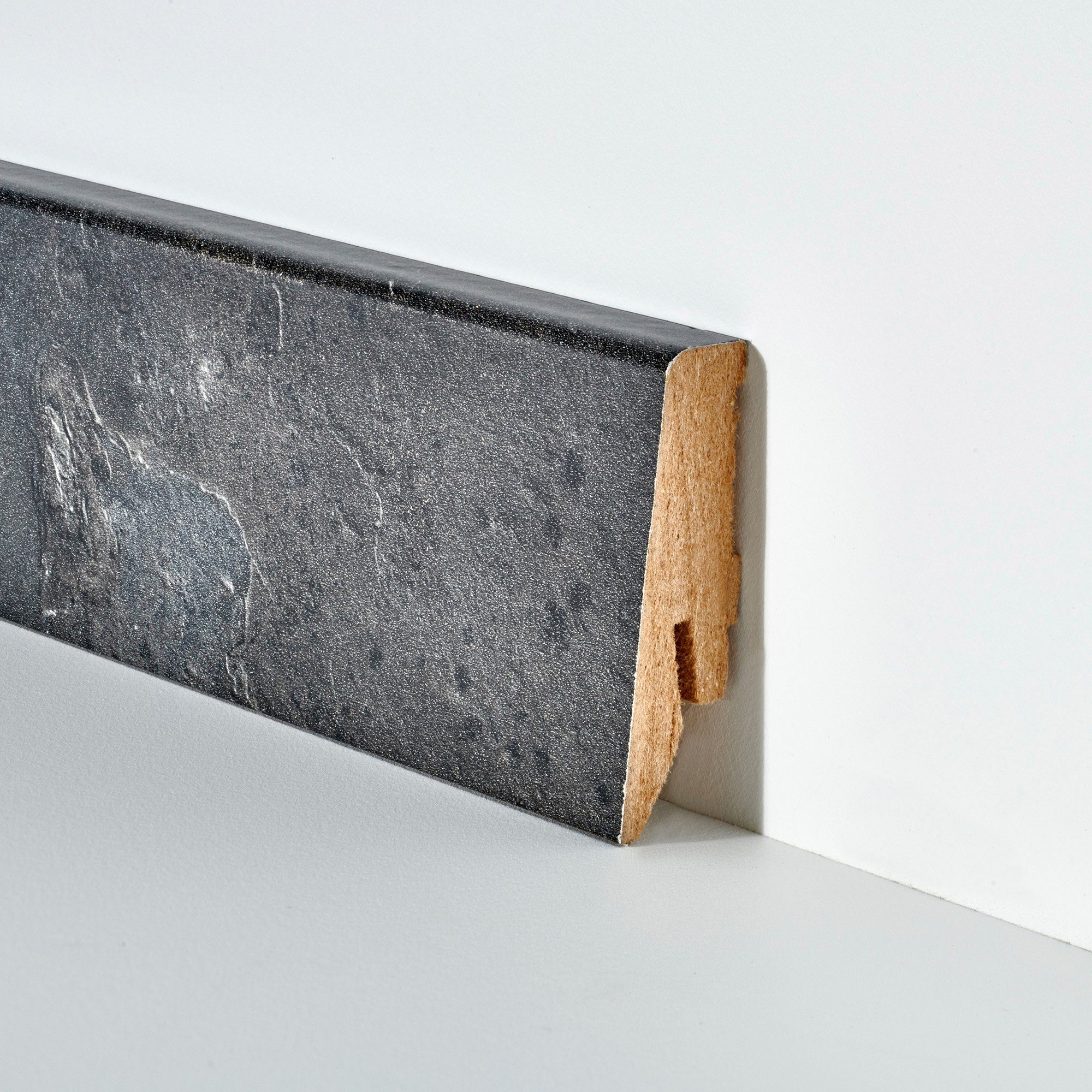 BODENMEISTER Set: Sockelleiste »Schiefer«, 2er-Pack, Höhe 5,8 cm