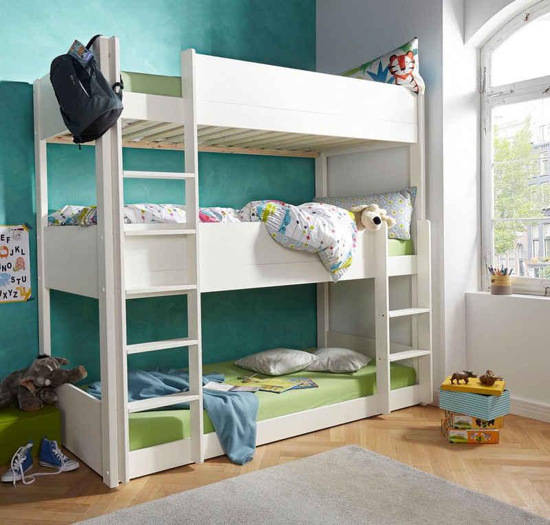 Home affaire Etagenbett »Tipo«, mit 3 Schlafgelegenheiten